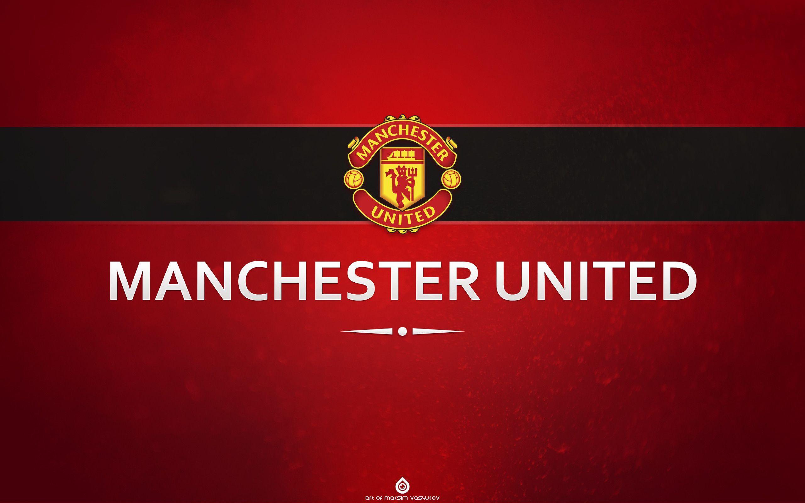 Manchester united logo wallpapers wallpaper cave for Man u bedroom wallpaper