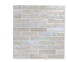 1x4 Gl Tile Sheet Tiles Pinterest Iridescent