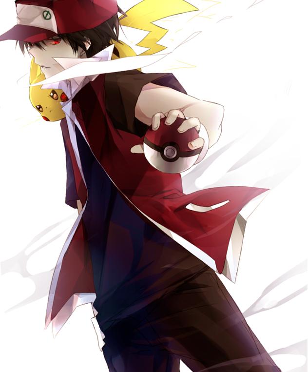 Pin By Cinnamonroll Shigeo On Pretty Boys Pokemon Trainer Red Pokemon Red Pokemon