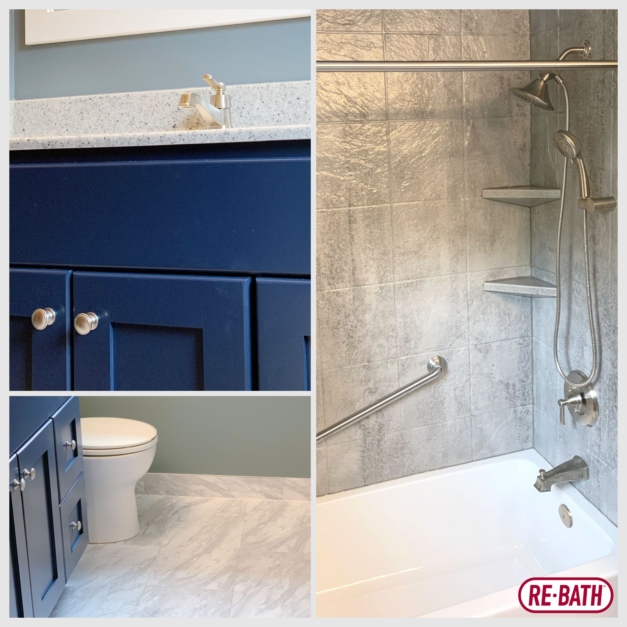 This Re Bath Omaha Remodel Features Durabath Acrylic Tub Shower