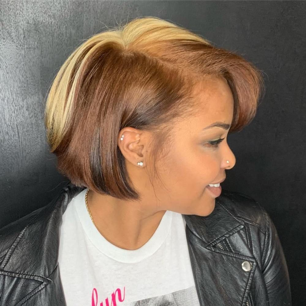 60 Showiest Bob Haircuts for Black Women