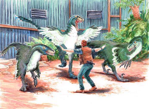 dinosaur dinosaurs Jurassic Park paleontology Velociraptor ...