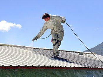 Quinns Painting Company Provide Reliable Roof Painting Services To Clients In Melbourne Area Roofpaintingmelbourne Cool Roof Roof Paint Roof Restoration