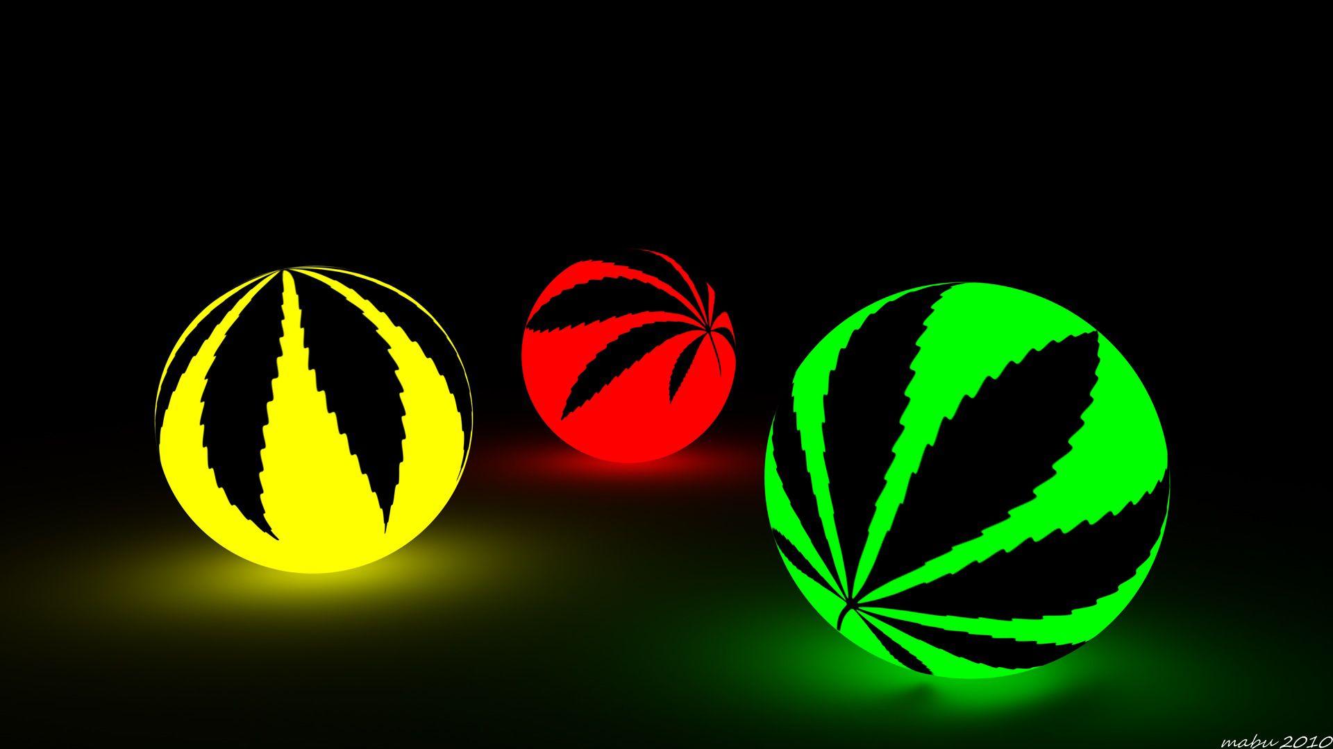 abstract marijuana