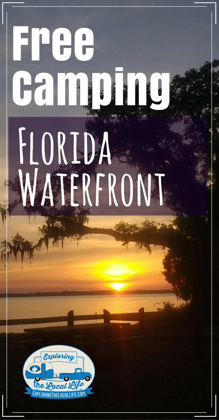 Free Florida Bayside Camping Camping Destinations Beach Camping Florida Camping