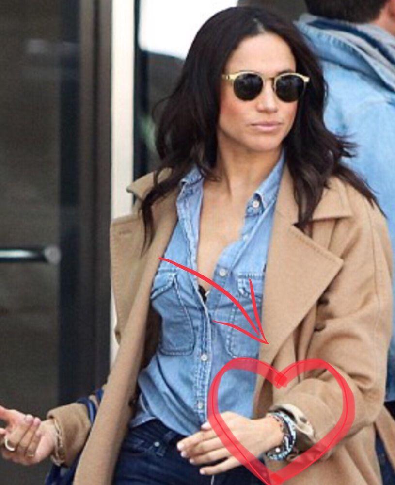 Prince Harry Meghan Markle Love Bracelet