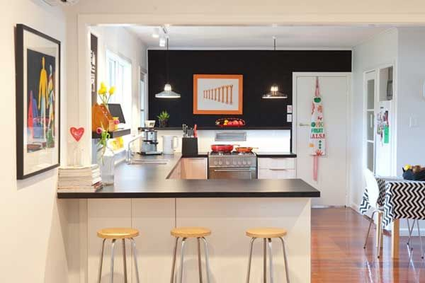 A Peninsula Is Basically A Connected Island Converting An L Shaped Kitchen Layout Into A Horsesho Kitchen Remodel Small Kitchen Layout Popular Kitchen Designs
