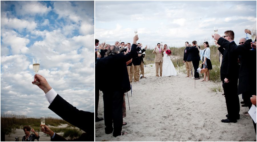 Oak Island Beach Wedding St James Plantation Www Theclubsatstjames