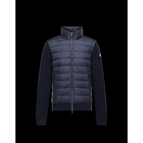 Moncler Tröjor - Tröja grå MNC7-30 moncler tröja 2016 Moncler Cardigan Tröja  Herr Dunjacka 2a3d19715047f
