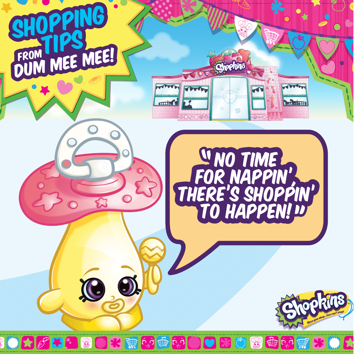 Dum Mee Mee Wants To Get Shoppin