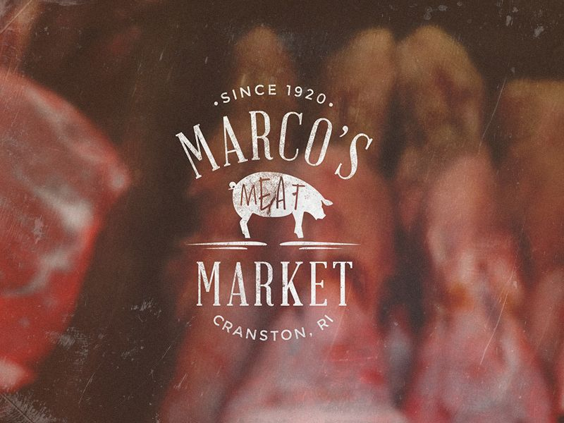 Meat Market Logo Badge Meat Shop Meat Markets Logo Packaging Design