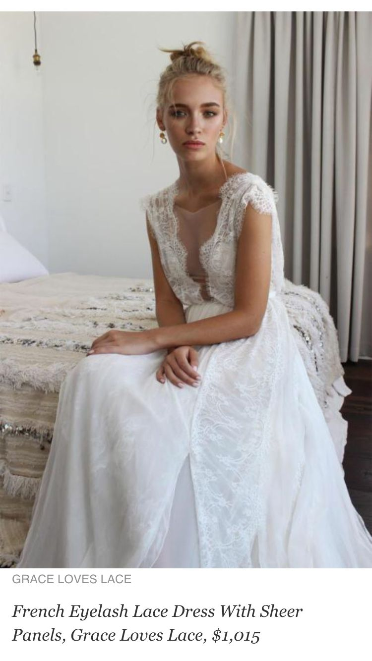 Lace dress for wedding  Pin by Savannah Hardin on when marriage comes  Pinterest