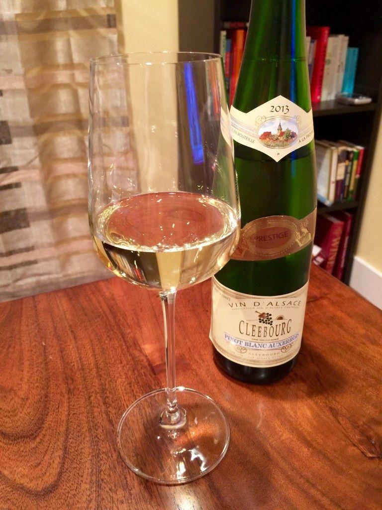 Cleebourg Pinot Blanc Auxerrois 2013 Pinot Blanc Pinot Wine