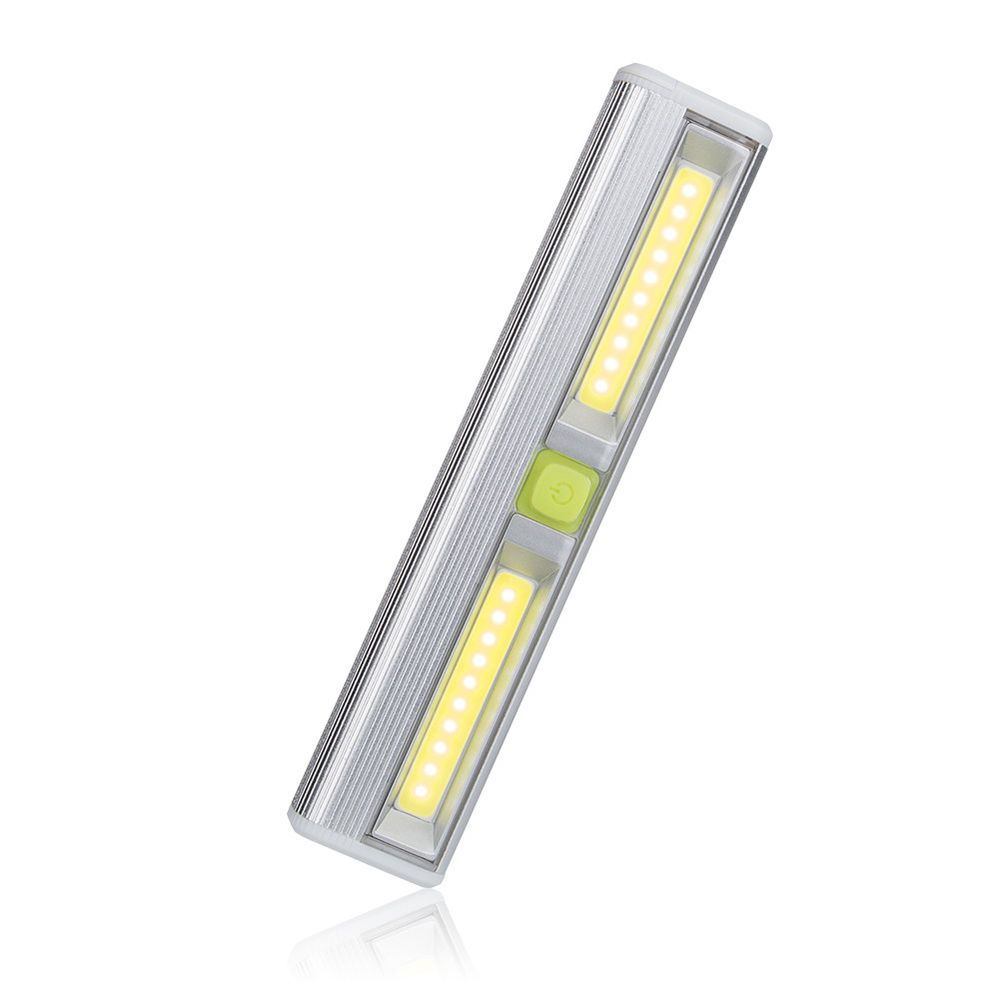 Mini cob led wall light battery operated night light magnetic