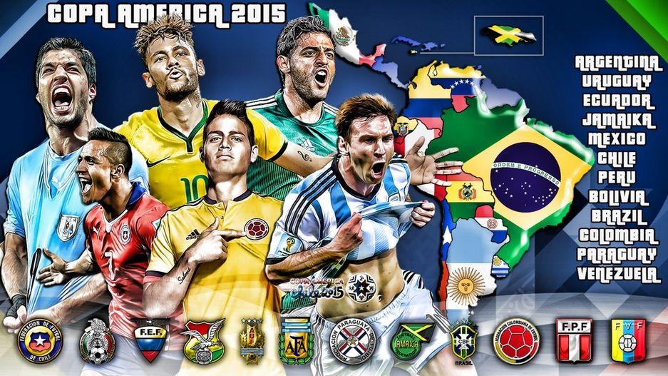 95e6b83ab6e Copa America 2015 Wallpaper   Copa America   America, Copa america ...