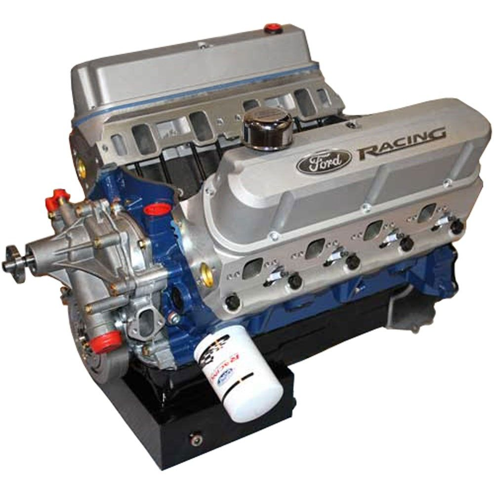 ford performance crate engine 460 cid boss 351 block 575 hp front rh pinterest com Diesel Engine Diagram Top Fuel Engine Diagram