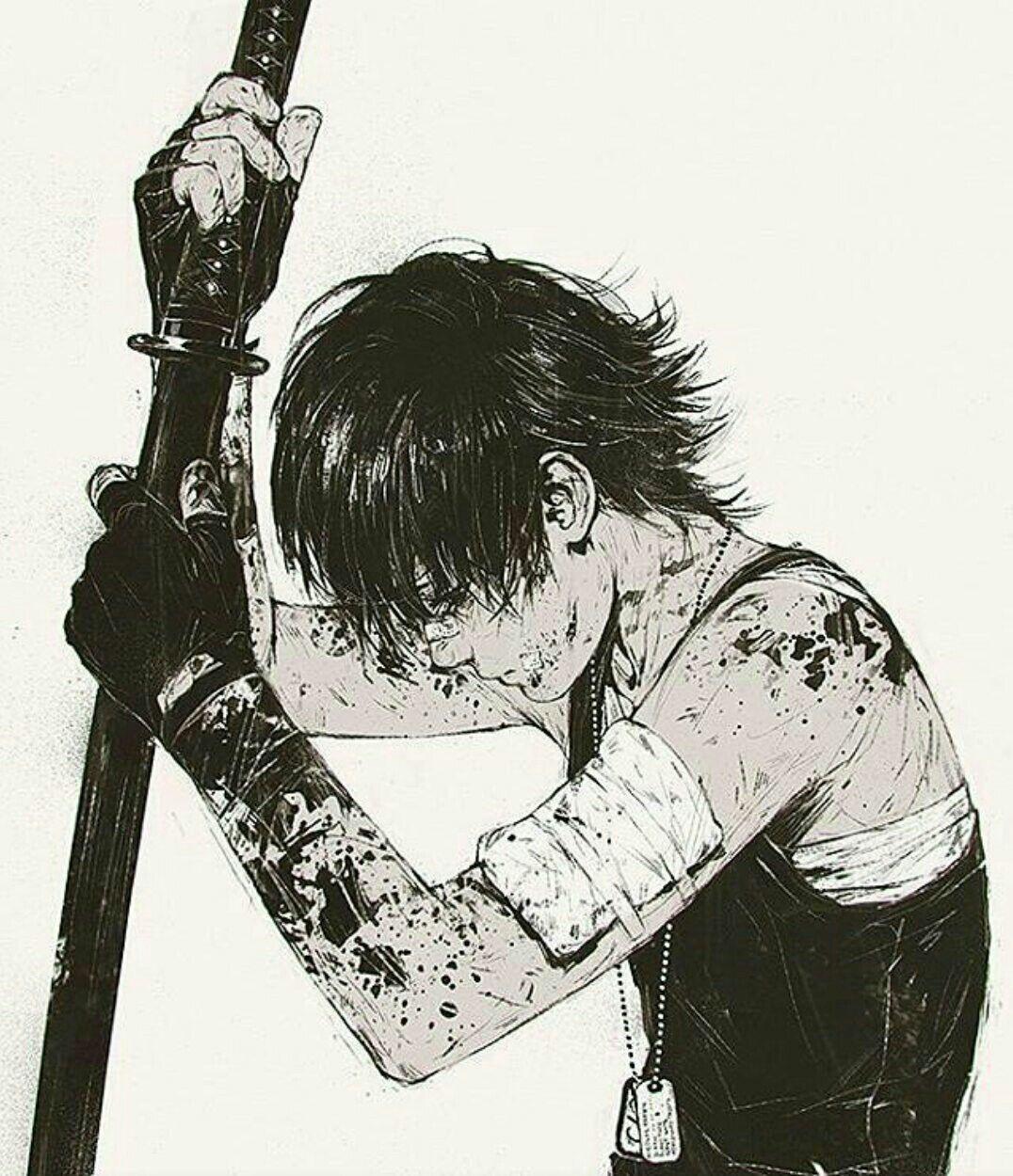 Épinglé par Zeynemin 7_7 sur Samurai Dessin manga