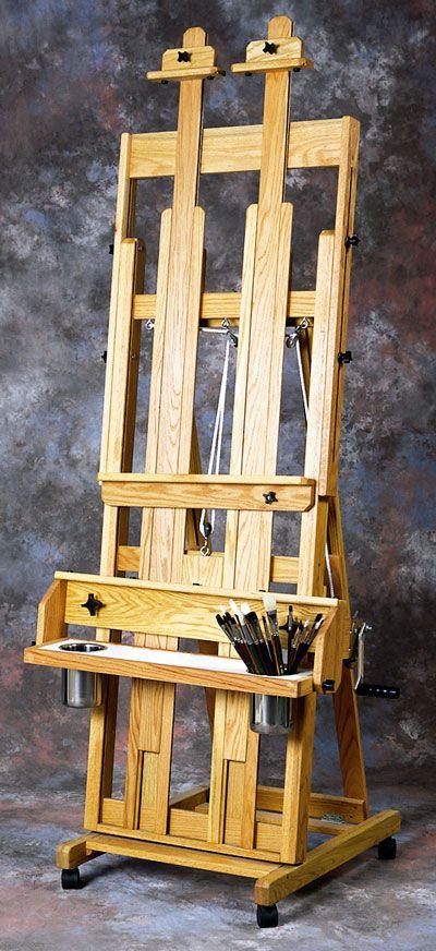 Santa Fe ll Easel | Art easel, Art studio storage, Artist ... on Easel Decorating Ideas  id=27005