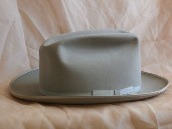 b6cc8474e9d Resistol 5X Beaver Open Road Style Vintage Western Hat
