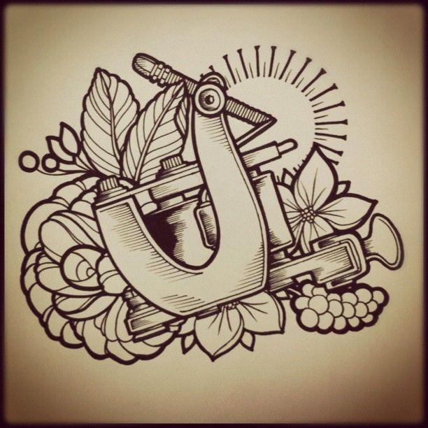 Diseño Tattoo Machine Design Diseño Tattoo Tatuaje