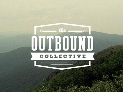 Outbound / logo design typography