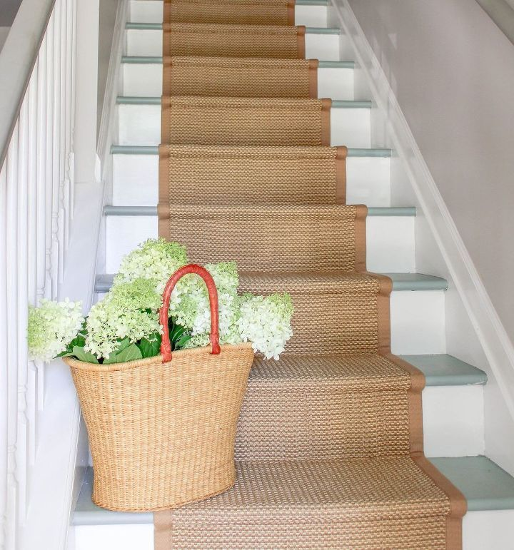 Painted Basement Stairs Ideas: Inexpensive Painted Stairs