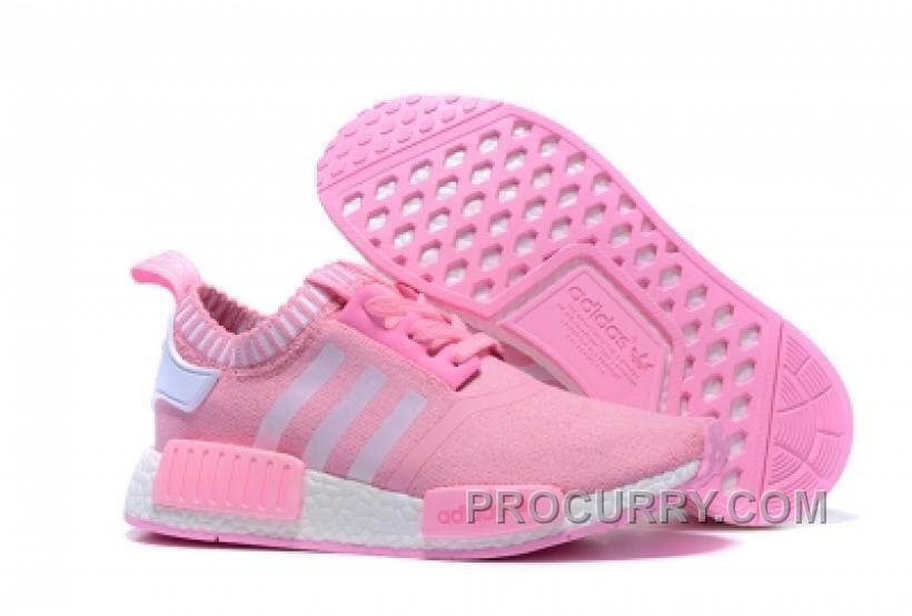 / adidas nmd staffetta donne scarpe rosa bianca