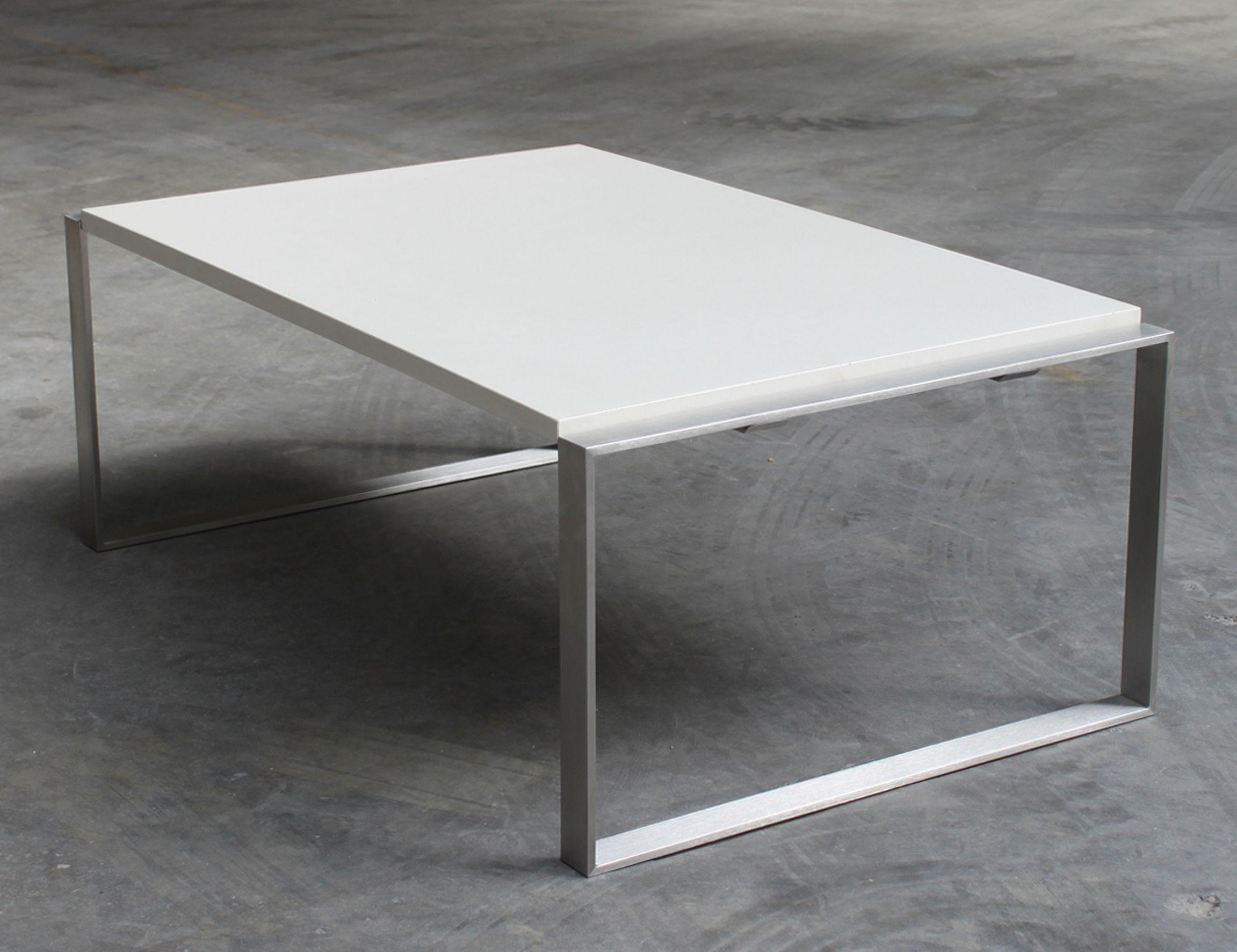 Betontisch Wohnzimmer ~ Loungetisch betontisch beton stahl grey elegant wohnzimmer
