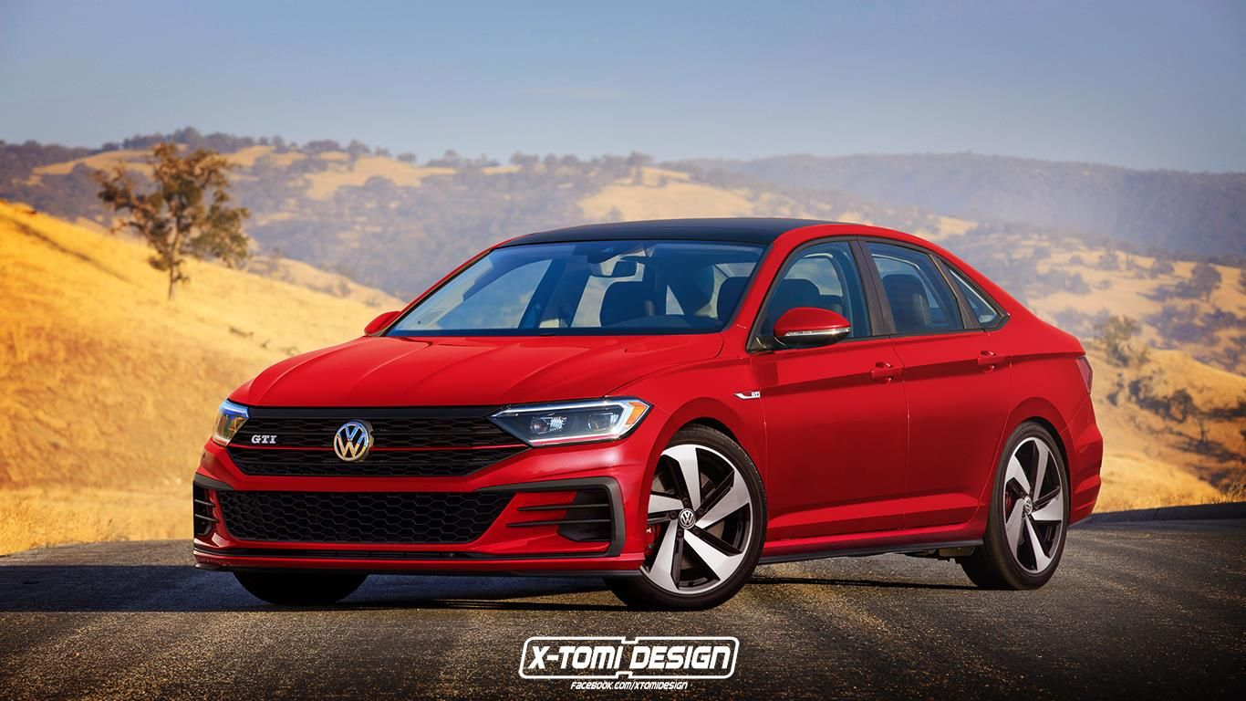2019 Vw Jetta Dressed In Digital Gti R And Sportwagon Guise