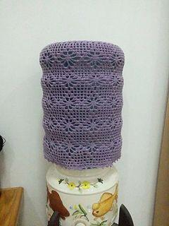 Ravelry: Aqua Cover Pattern By Ebta Novita Sari. Find This Pin And More On Free  Crochet Home Decor ...