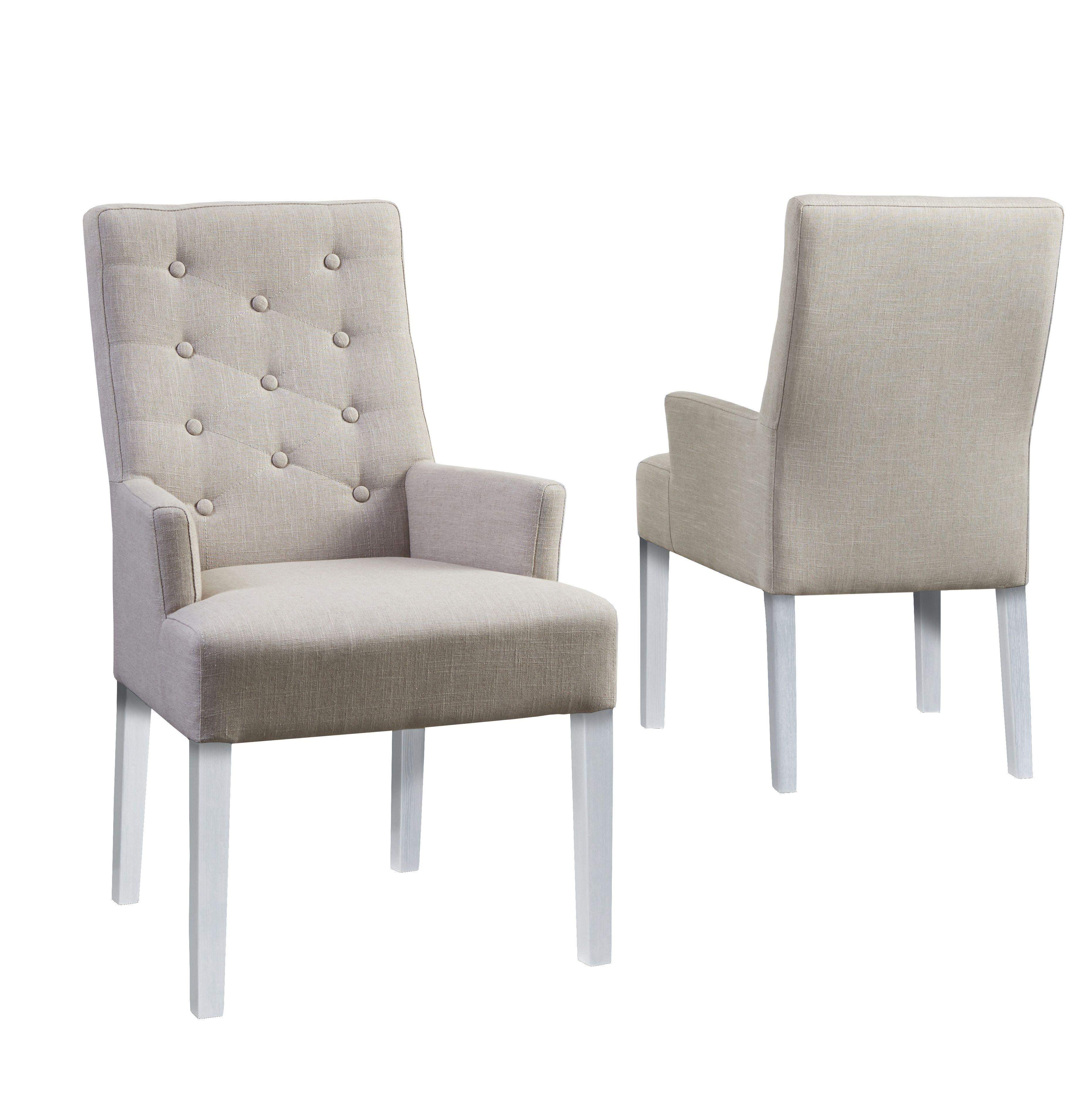 Stuhle Esszimmer Beige #21: Stuhl Beige/ Weiss Woody 112-00834 Stoff Klassisch Jetzt Bestellen Unter:  Https://moebel.ladendirekt.de/kueche-und-esszimmer/stuehle-und-hocker/ ...