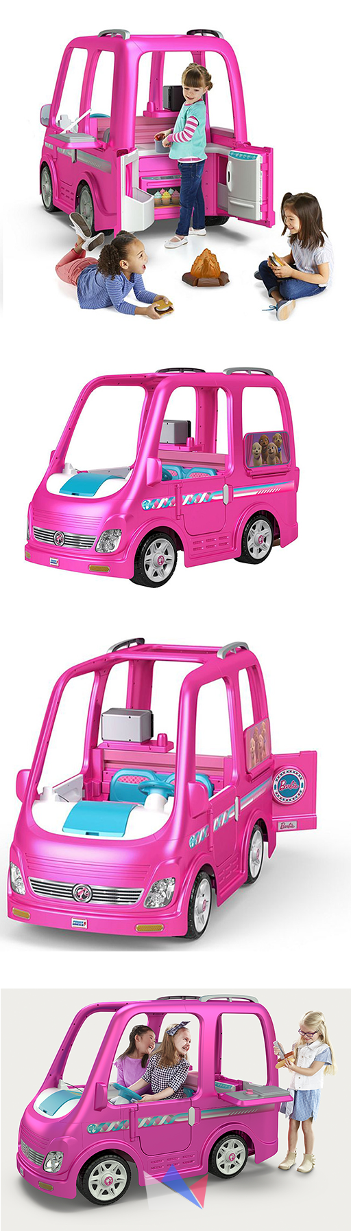 Power Wheels Barbie Dream Camper With Images Barbie Dream Power Wheels Barbie