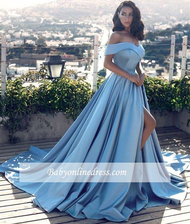 abendkleider lang blau günstig 🎉 ballkleider große größen