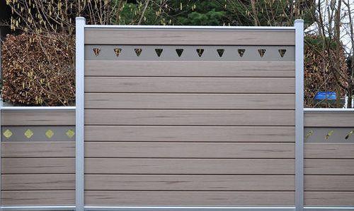 UPM ProFi Fence (mit Bildern) Wpc zaun, Sichtschutzzaun