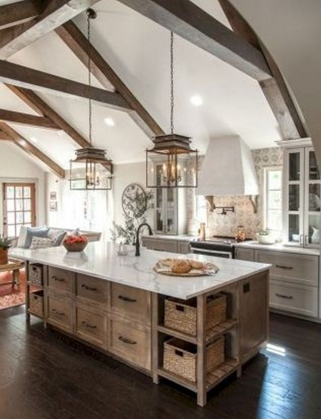 50 Modern Farmhouse Kitchen Ideas Design_19  Kitchen Design Fair Farmhouse Kitchen Design Decorating Inspiration