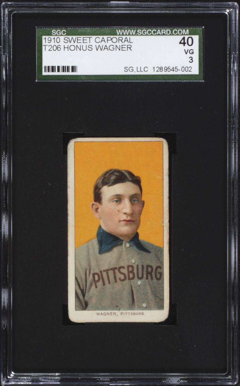 1909 t206 honus wagner not the rarest card in the world