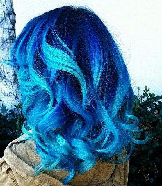 Colours Blue Ombre Hair Hair Color Pastel Ombre Hair