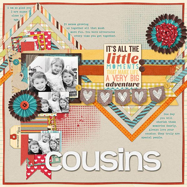 Cousins by sczos911 - Cards and Paper Crafts at Sp