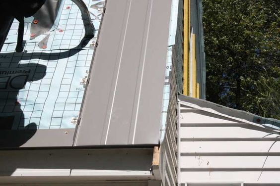 How To Install A Metal Roof Metal Roof Metal Roof Installation Fibreglass Roof