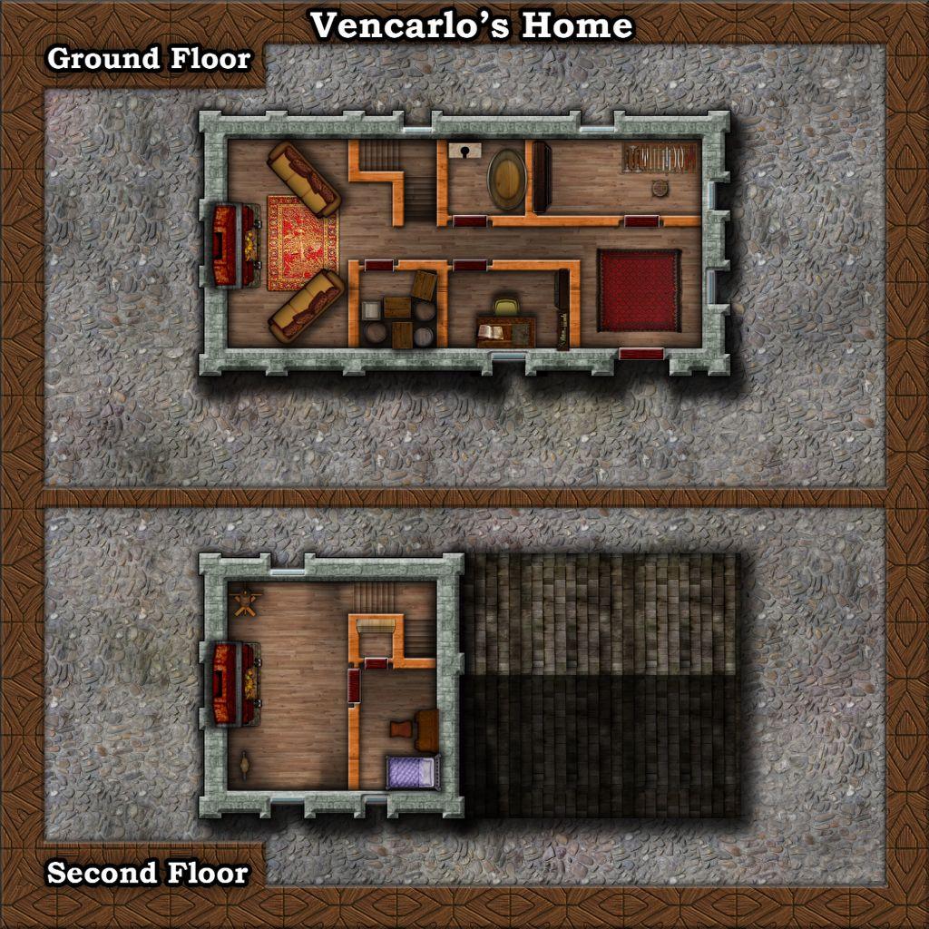 Nice simple home design/ Map
