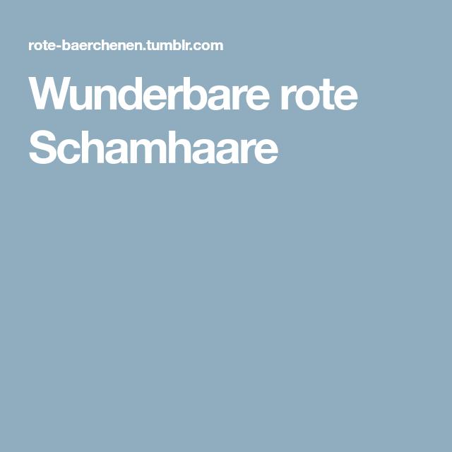 Rote Scharmhaare