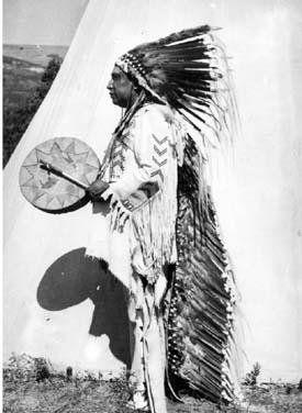 Crow Feathers - Blackfeet (Pikuni) - 1930