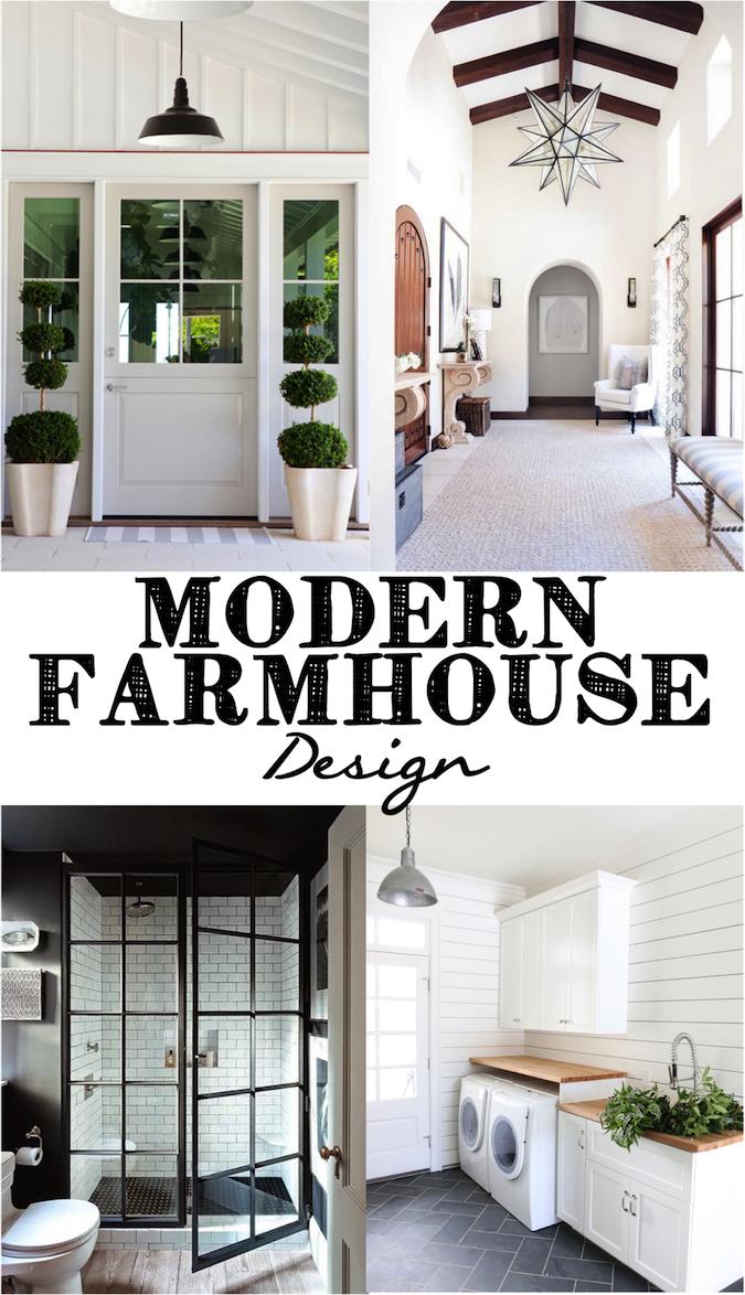 Modern Farmhouse Design Modern farmhouse interiors