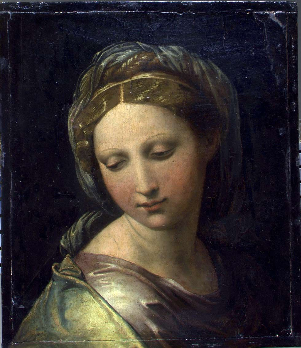 'Fake' Raphael turns out to be worth £25m Young women