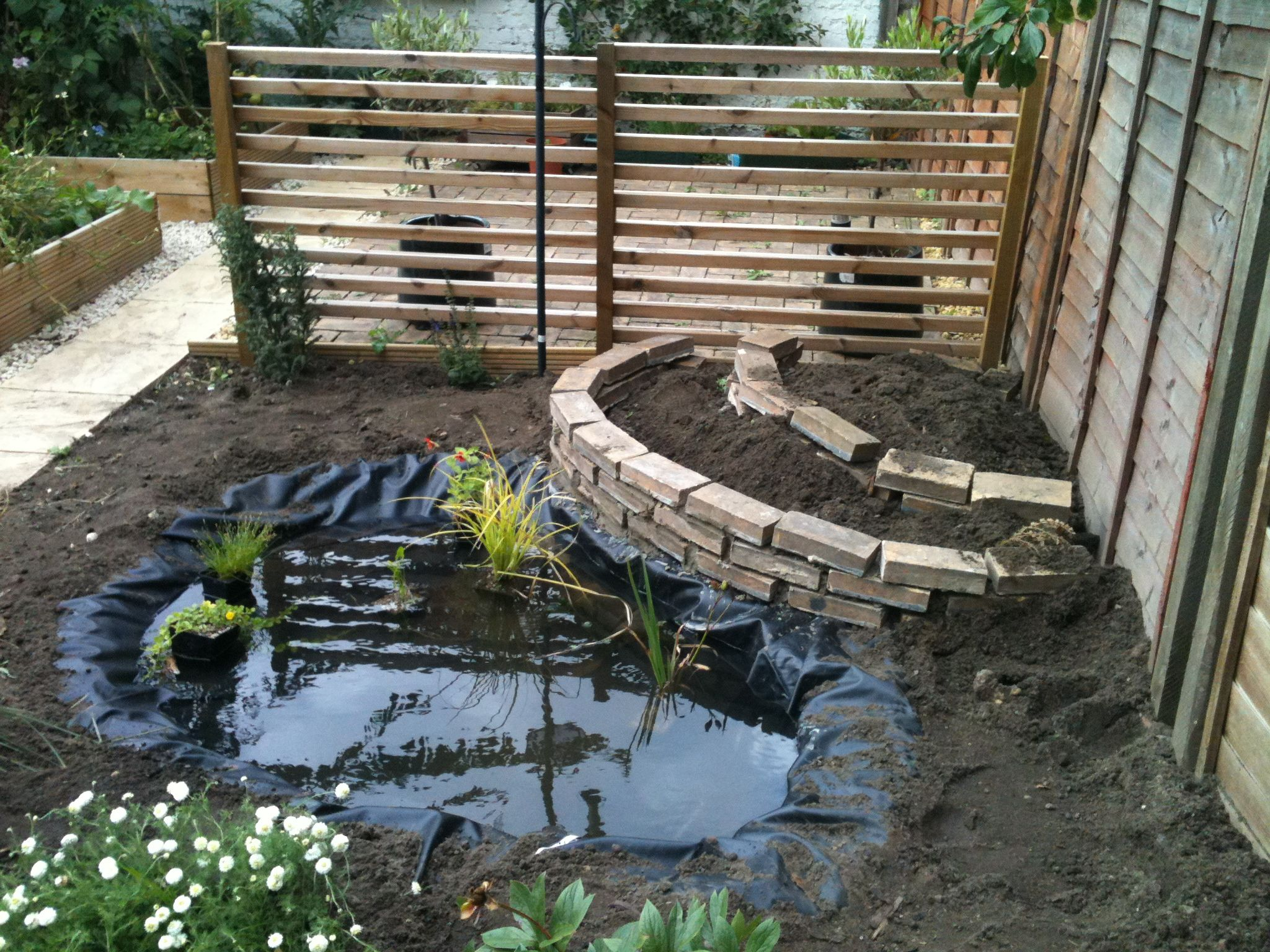 Garden Ponds Designs Concept Create Your Own Garden Pond Nature Conservation Lewisham Gifh3Dtg .