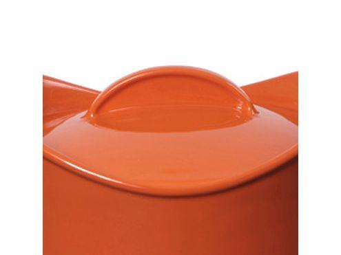 Stoneware Casseroval (4.25-qt.): orange by Rachael Ray