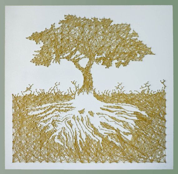 Tree of Life String Art: maybe one day