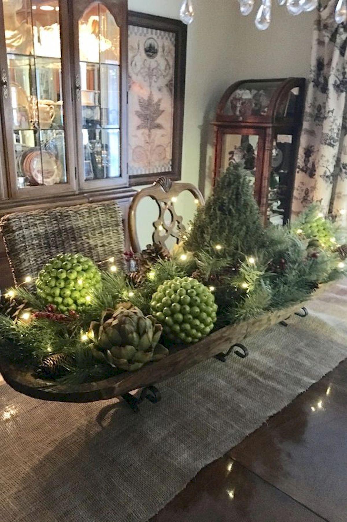 Decoratingideas Kerst Bloembakken Landelijke Kerstversiering Rustieke Kerst