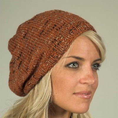 Free Knit Beanie Pattern : Plymouth Yarn F346 Coffee Beenz Hat (Free) in Plymouth Yarn at Webs Knit Lo...