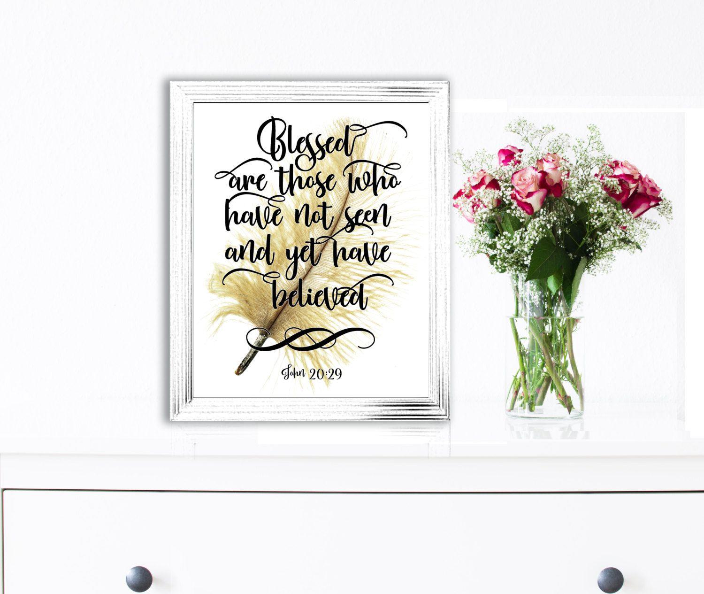 Printable bible verses quotes print bible scripture art for Bible verse decor
